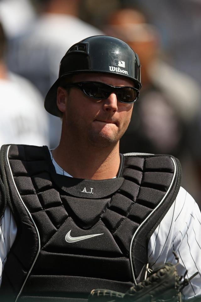 Catcher AJ Pierzynski - He will ALWAYS be a Chicago White Sox in my book! <3
