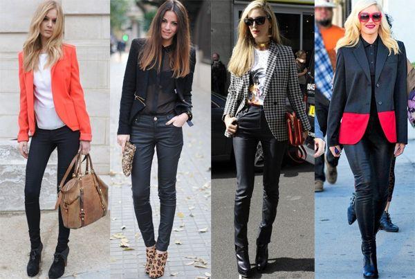 С чем носить женский блейзер и жакет (фото) » Модный Блог Mimiton
