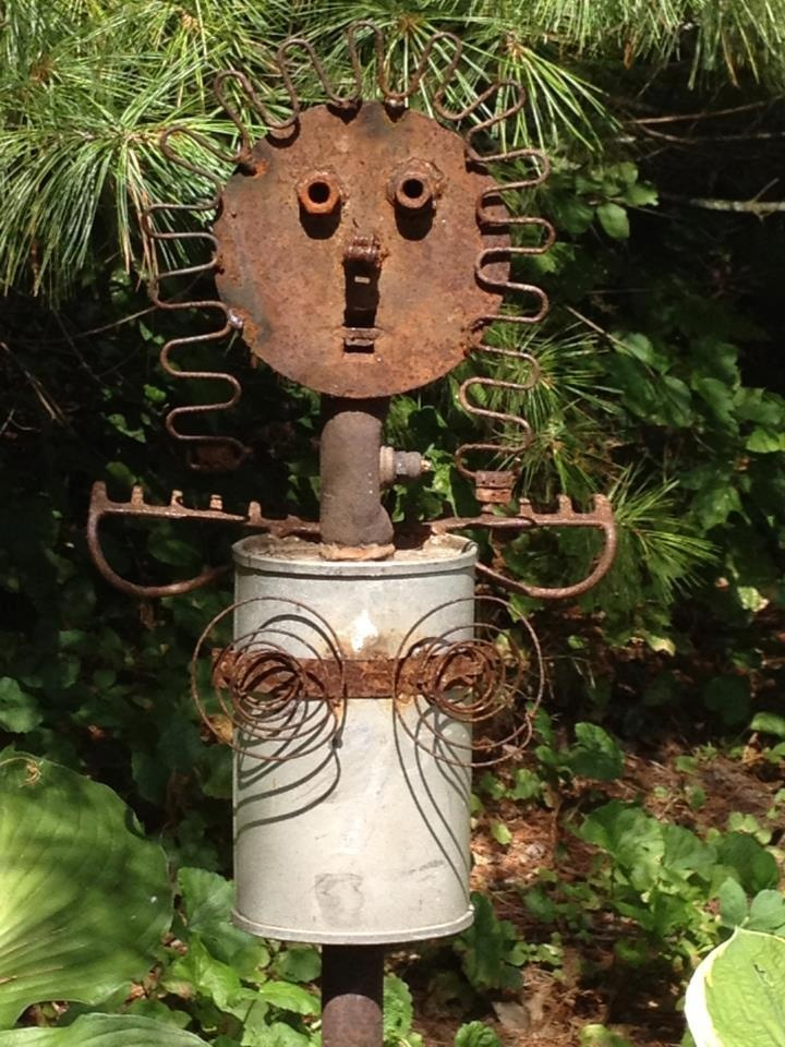 Myra Glandon I wanted to share one of our scrap metal ...