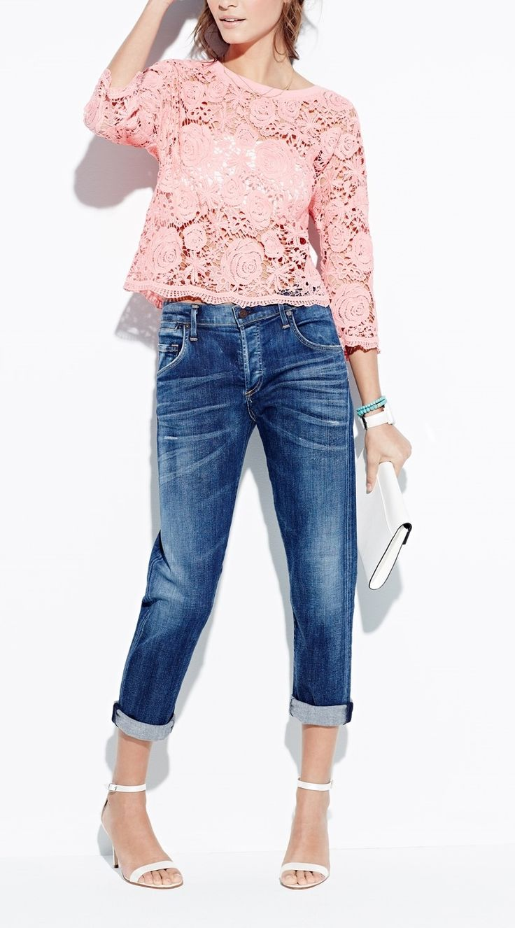 Dressed up or dressed down, these Citizens of Humanity boyfriend jeans would be fabulous for spring and summer.