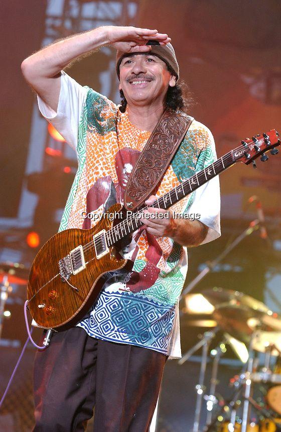 Carlos Santana, Live, Crossroads Guitar Festival , On June 6, 2004 Photo Credit: Eddie Malluk