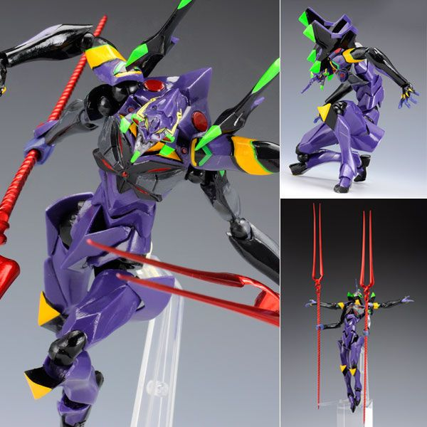 Revoltech 136 EVA Unit 13 Evangelion 3.0 Anime Action Figure Kaiyodo Japan (re-release)