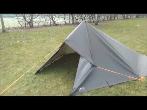 ▶ 5 tarp shelter setups with a 3x3 tarp - YouTube