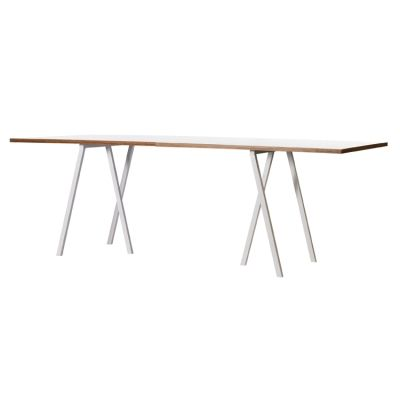 Loop Stand Table bord 180 cm, vit från Hay – Köp online på Rum21.se