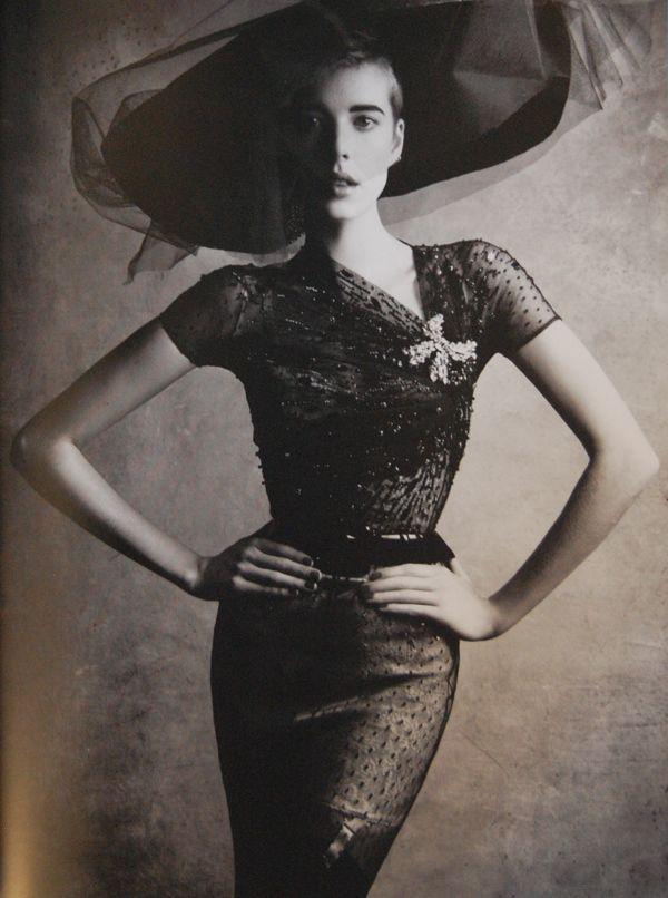 Patrick Demarchelier / Dior Couture 2011.