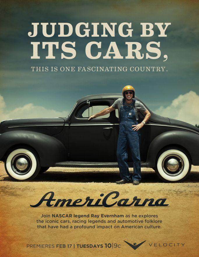 Season 2 of AmeriCARna returning to the V in February