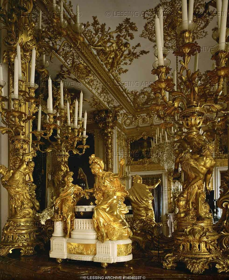 Details neo baroque interiors palaces 19th dollmann georg for Italian baroque interior design