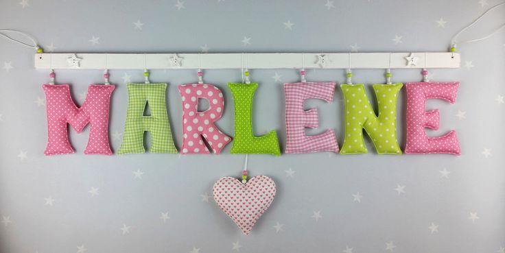 25 einzigartige buchstaben n hen ideen auf pinterest Buchstaben deko kinderzimmer