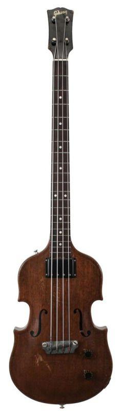 frettedchordophones: Gibson 1956 EB1 Bass =Lardy's Chordophone of the day - a year ago --- https://www.pinterest.com/lardyfatboy/