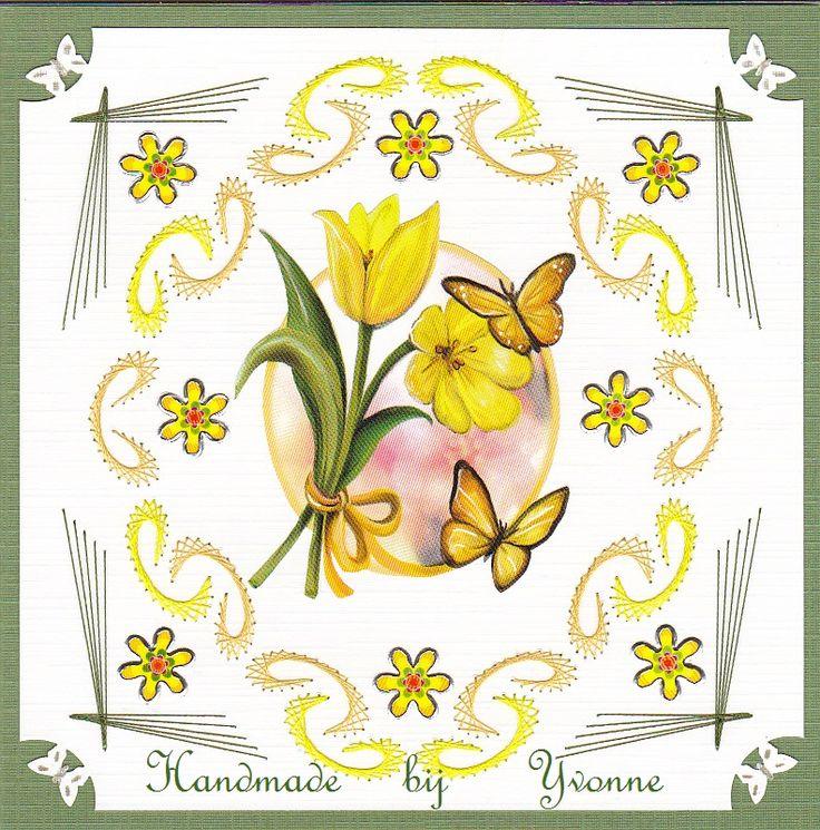 YB 89 Gele tulpen