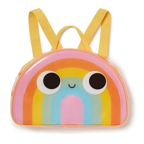 A delightfully perfect kids PVC backpack. With adjustable straps to ensure a comfy fit, this bright, fun and practical rainbow bag is the most magical place to keep all those odd bits and pieces. Just write your name in the label inside, add your things and zip him up ready to go! Details 304 x 200mm Vendor Salt & Honey Kids Little Girl Backpack, Toddler Backpack, Rainbow Jelly, Rainbow Bag, Modern Kids, Girl Backpacks, Other Accessories, Little Girls, Kids Fashion