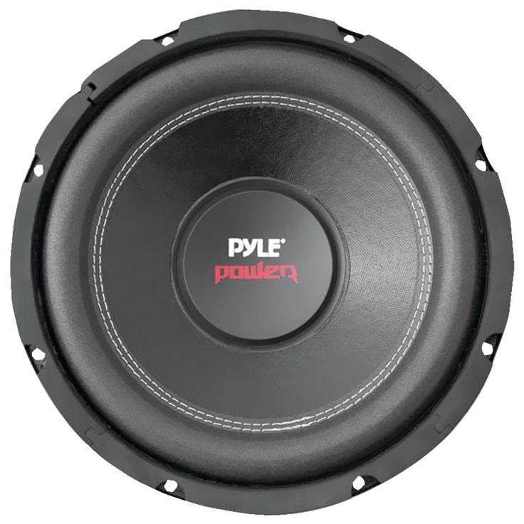 "Pyle Pro Power Series Dual Voice-coil 4ohm Subwoofer (12"" 1600 Wat – USMART NY"