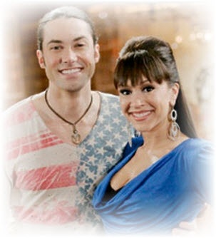 American Idol's Diana DeGarmo (season 3) and Ace Young (season 5) got engaged LIVE on the American Idol season finale. They didn't show a good shot of the engagement ring. Darn! More about the engagement at the link on this pin.