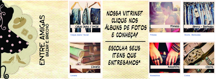 Capa de Facebook #lojavirtual #top #love #entreamigas #bazar