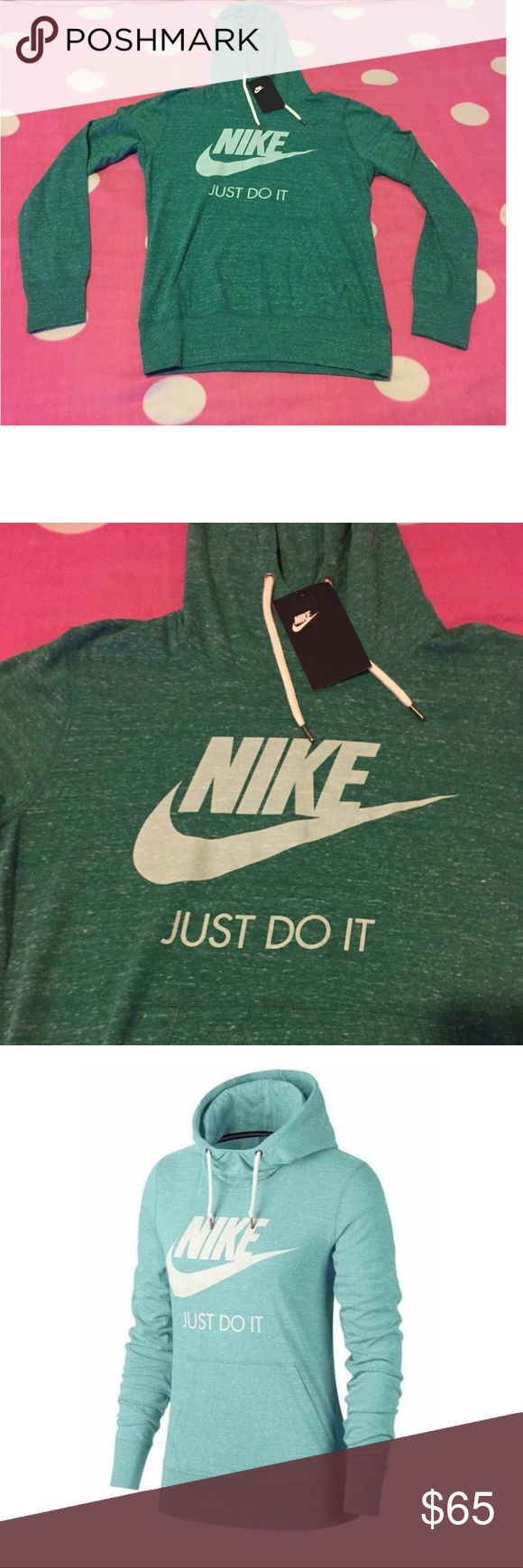 🔥⭐️Nike Pullover Hoodie🎊🎉 ⤵️PLEASE READ⤵️ No Trades. No Holds.   Please submit all offers via offer button.  Brand new with tags. Size Medium (women's) the last picture is the same exact hoodie in a different color to show fit.   I'm open to reasonable offers   I inspect all my items before I ship them out so please be sure to read descriptions before purchasing to prevent any miscommunication. Nike Tops Sweatshirts & Hoodies