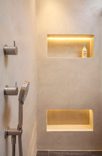 Dusche Nische Licht : How to Decorate Window above the Bad the Inthe Badroom