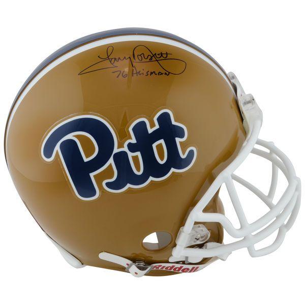 Tony Dorsett Pittsburgh Panthers Fanatics Authentic Autographed Pro-Line Riddell Authentic Helmet with Heisman 76 Inscription - $479.99
