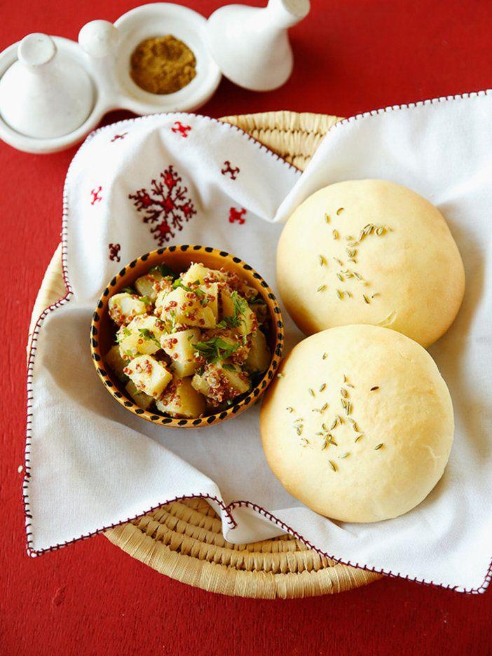 いつものポテサラが一新! クミンが香るモロッコ風は、中華風の蒸し饅頭やパンとも好相性。|『ELLE a table』はおしゃれで簡単なレシピが満載!