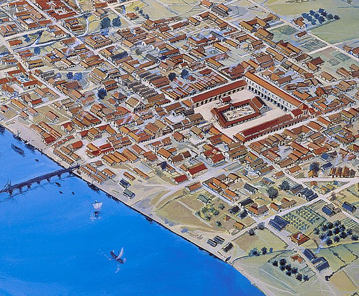 the history of the city of rome In 500 bc, rome was a minor city-state on the italian peninsula  44 bc, in  perhaps the most famous murder in world history, a group of.