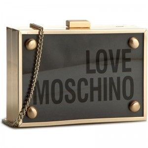Kabelka LOVE MOSCHINO - JC4316PP02KX0998  Trasp/Met. Rame