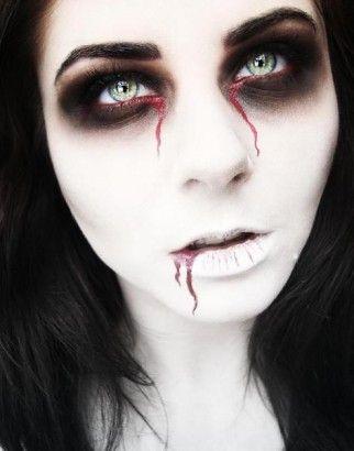 #Halloween #Beauty: 15 Creative #makeup ideas