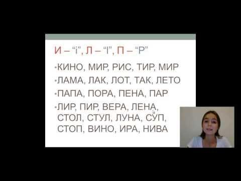 Alfabeto Ruso. Aprende como leer en Ruso. Parte 1. - YouTube