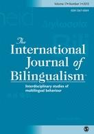 International Journal of Bilingualism Grosjean 2015 bilingualism biculturalism