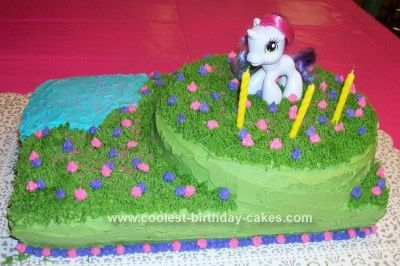 wilton my little pony cake pan instructions