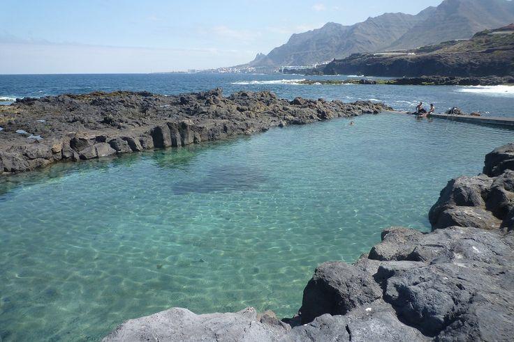 Las mejores piscinas naturales de Tenerife. Piscina ...