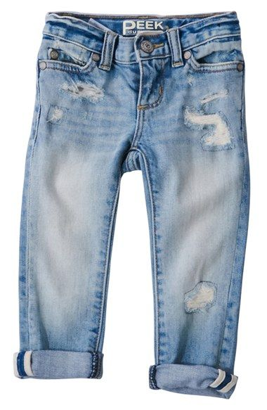 Peek 'Maya' Jeans (Baby Girls) available at #Nordstrom