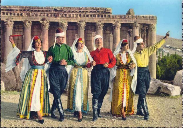 Lebanese folklore @ Baalbak