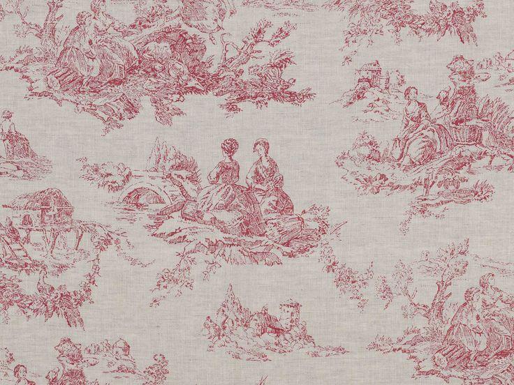48 best images about fabric on pinterest - Rideaux toile de jouy ...