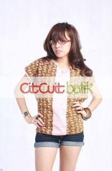 CitCuit EFTERYL Blouse Batik