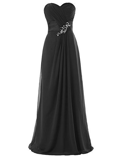 Dresstells Long Chiffon Dress with Beadings Bridesmaid Dresses Wedding Dress Black Size 2 Dresstells http://www.amazon.com/dp/B00M9511W0/ref=cm_sw_r_pi_dp_u9zuub12RWZ6P