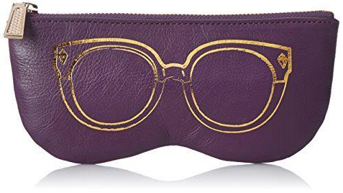 Rebecca Minkoff Sunnies Pouch Wallet, Aubergine, One Size