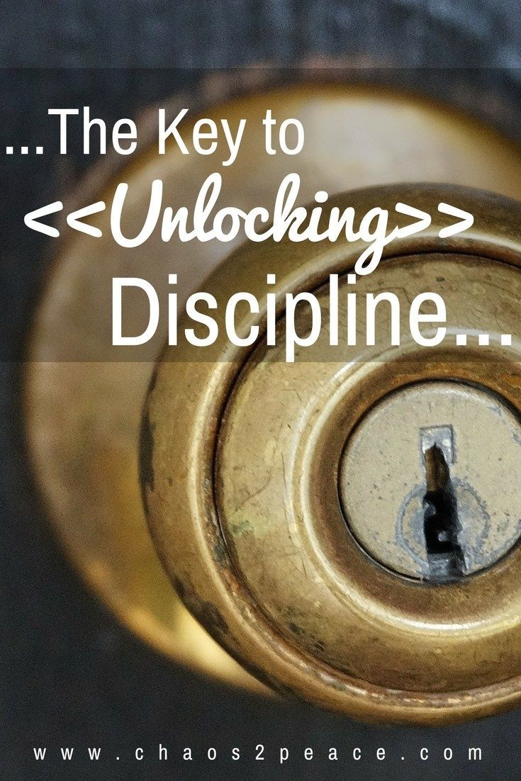 Have you ever wanted to start a new habit but just keep falling short? There really is a key to unlocking discipline. Check it out.
