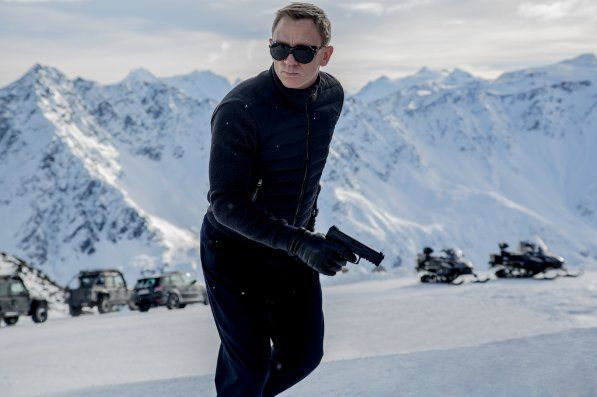 Still of Daniel Craig in Spectre (2015)