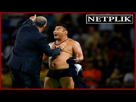 Protest at Rio Olympics Mongolian wrestling coaches strip off clothes