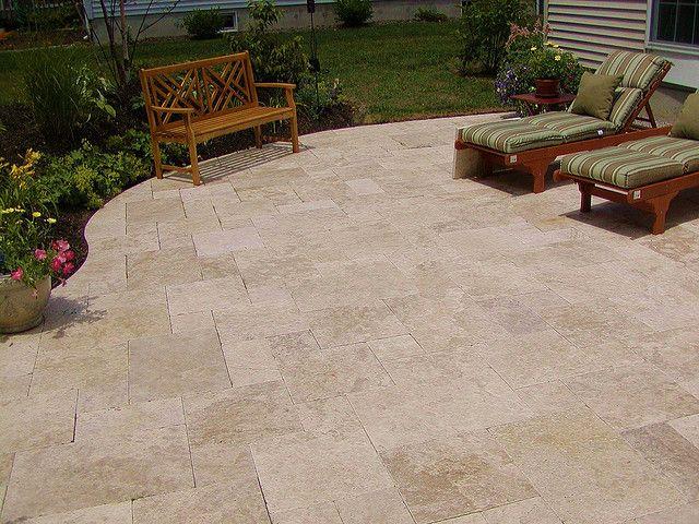 15 best Travertine patios images on Pinterest | Travertine ... on Travertine Patio Ideas id=65753