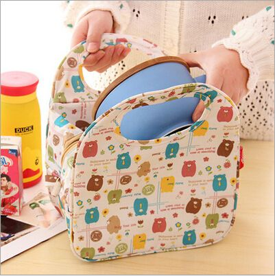 FREE SHIPPING Thermal Bag For Food Bolsas Termica Lunchbox For Kids Built Lunch Bag Picnic Insulated Totes Women Handbag