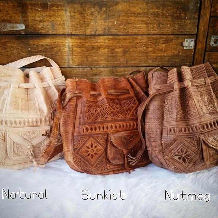 Amays Ivy Moroccan Leather Bag - www.amays.bigcartel.com