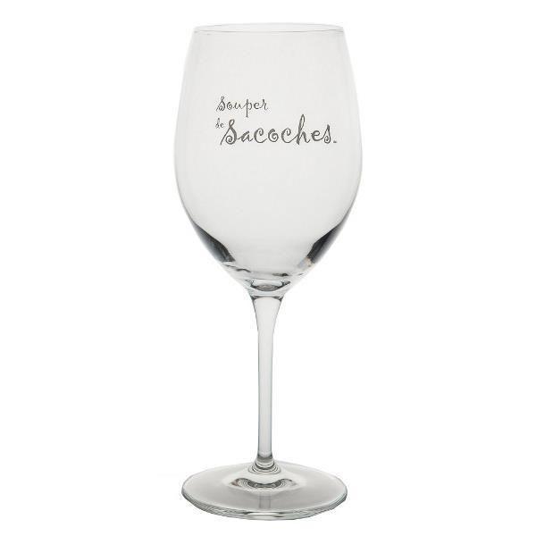 SOUPER SACOCHE – Wine Glass