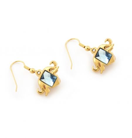 Mini Charm Buffalo Earrings