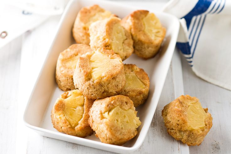 Use pantry staples to create these moreish pineapple coconut cakes.