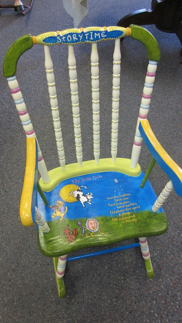 243 Best Painted Childrens Furniture Images On Pinterest