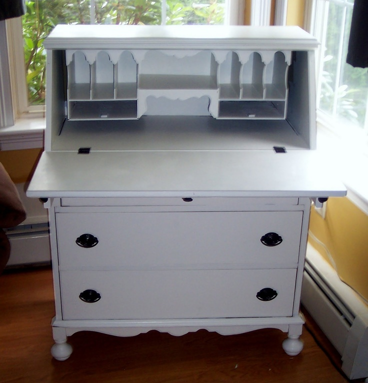 I want to find one for the girls' room and paint it bubble gum pink!