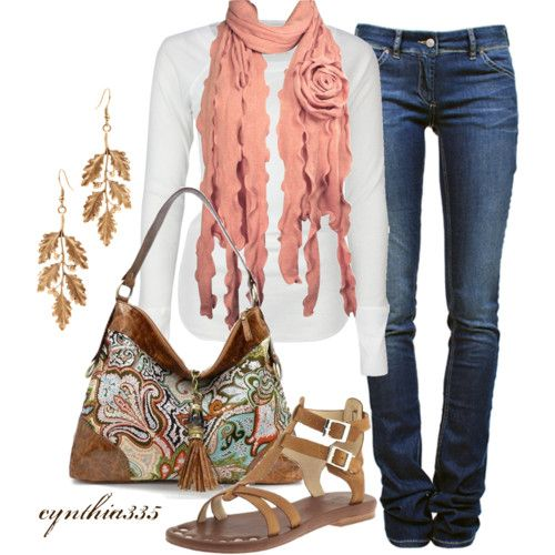 SPRING OUTFITS | Casual Spring Outfit - Polyvore