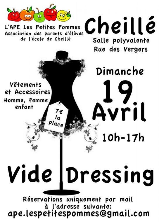 Vide-dressing, Cheillé (37190), Centre-Val de Loire