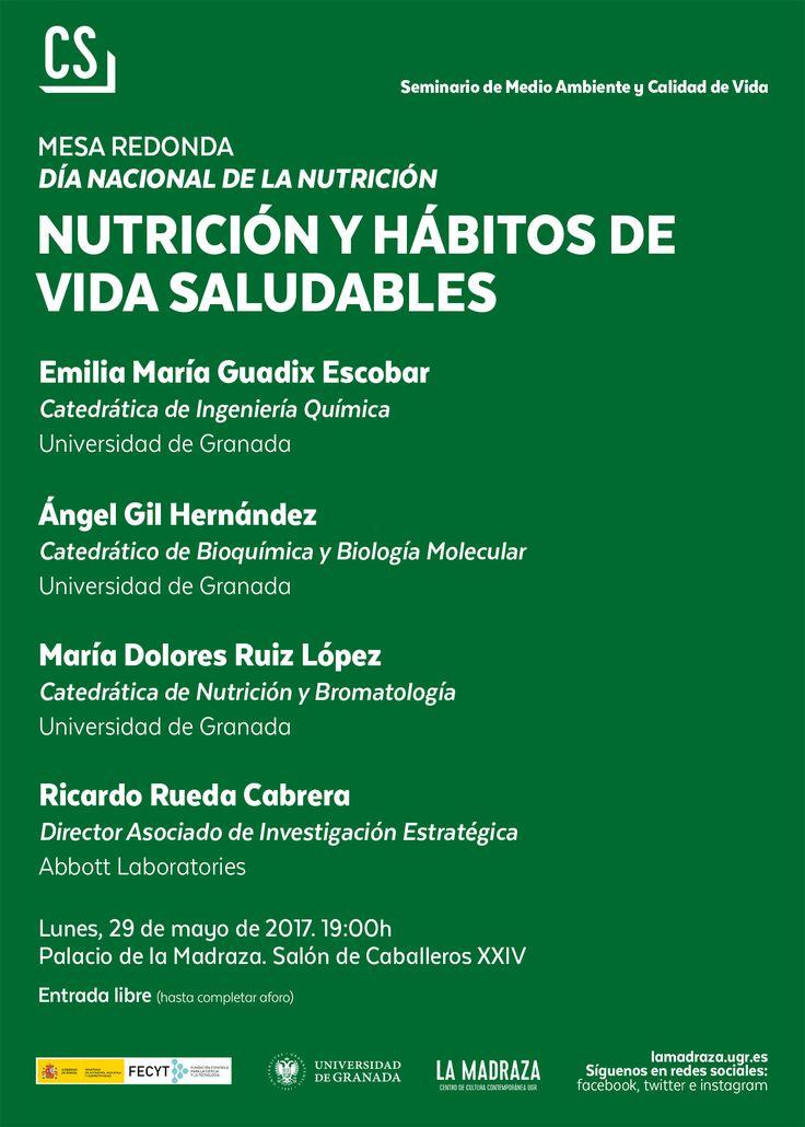 """Hoy,con motivo del Día Nacional de la Nutrición,tendrá lugar,a las 19h,en #LaMadraza la """"Mesa redonda: Nutrición y hábitos de vida saludables"""". E.Libre. Organiza: @CienciasDeLaSaludUGR https://lamadraza.ugr.es/evento/mesa-redonda-nutricion-y-habitos-de-vida-saludables/ #Nutrición"""