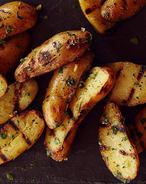Joe Carroll's Grilled Fingerling Potatoes: This simple side dish can be served alongside any meat or other main course you're throwing on the grill.